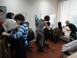 фотографии обучения парикмахеров
