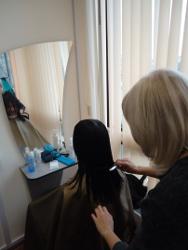 фотографии занятий парикмахерского дело